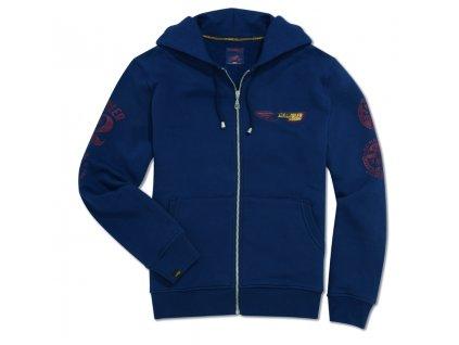 Ducati Scrambler Utah Herren Kapuzen Sweatshirt in blau 98769717