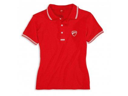 tričko polo Ducatiana dámské červené