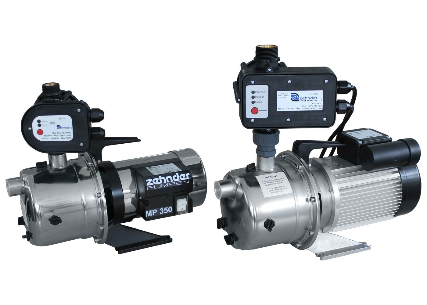 Automatické domovní vodárny s vícestupňovým čerpadlem