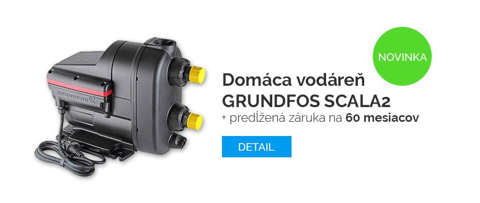 Domáca vodáreň GRUNDFOS SCALA2