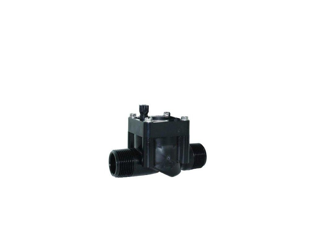 """Hranatý elektromag. ventil PGV-101MM-LS, s reg.prietoku, 1"""" Vo-Vo, bez solenoidu"""