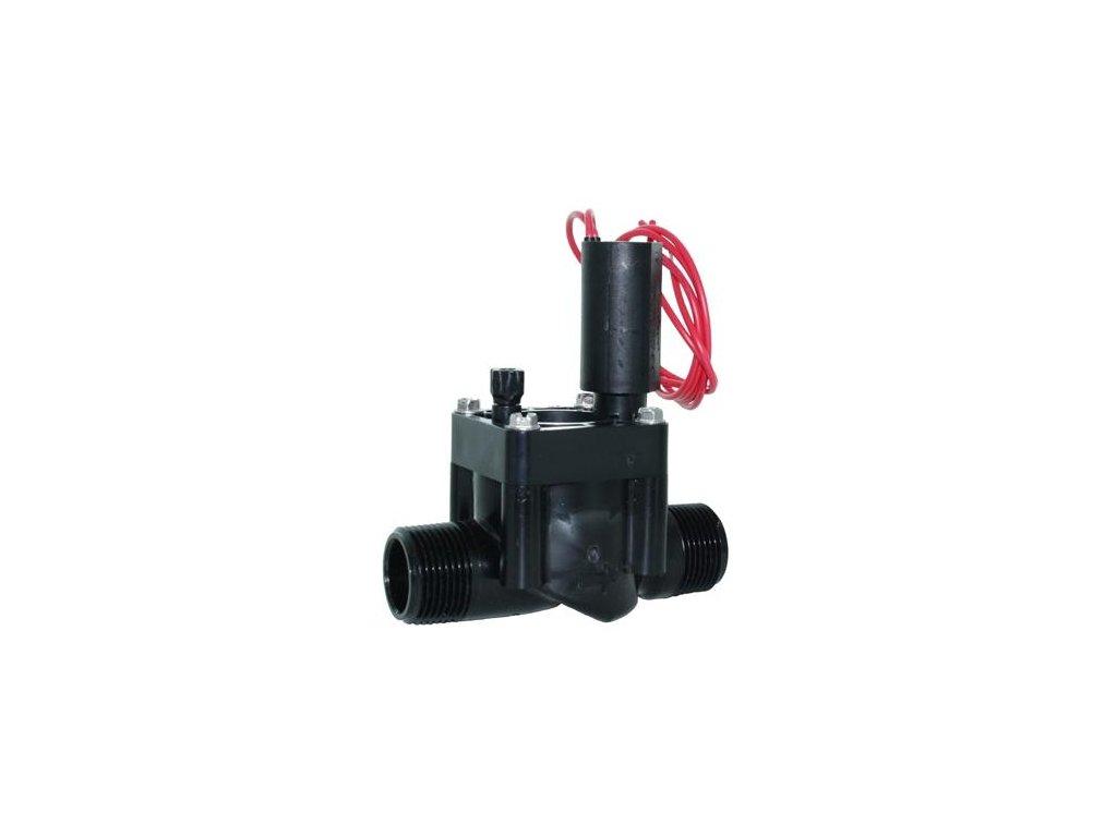 """Hranatý elektromag. ventil PGV-100MM-B, bez reg.prietoku 1"""" Vo-Vo, 24V/AC"""