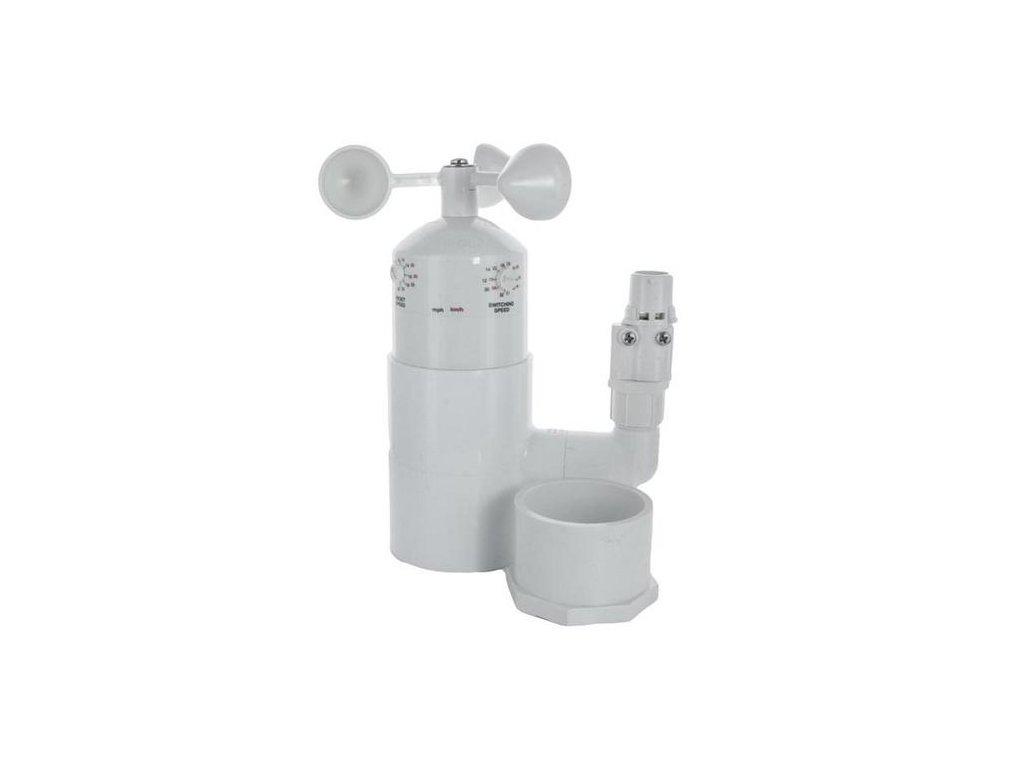 Mini-meteostanica MWS, dažďový a veterný senzor