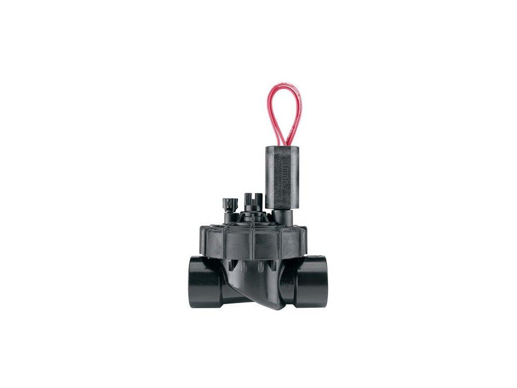 """Guľatý elektromag. ventil PGV-101-JAR TOP-GB, s reg.prietoku, 1"""" Vn-Vn, 24V/AC"""