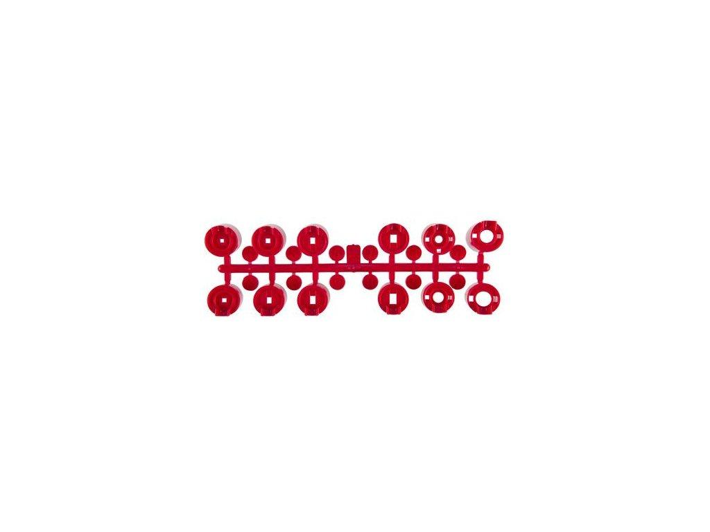 Trysky k postrekovačom PGP-ADJ, - červené, zákl. sada, 12ks/bal.1ks