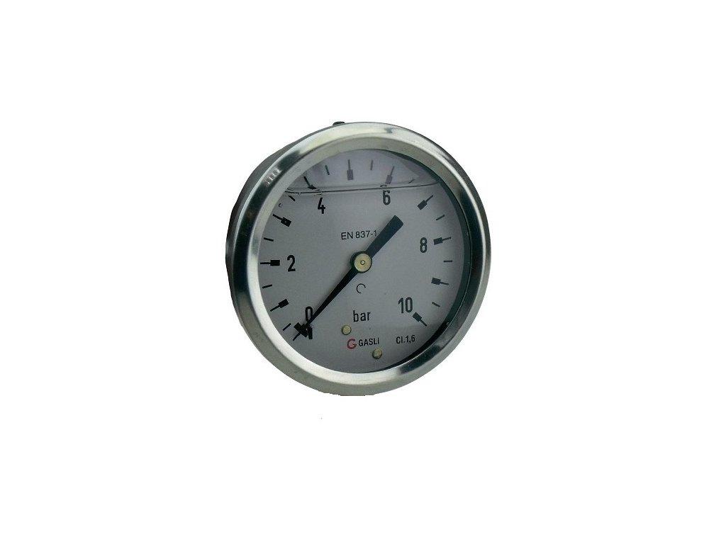 Manometer ø 50mm, zadný pripoj, 0-11Bar
