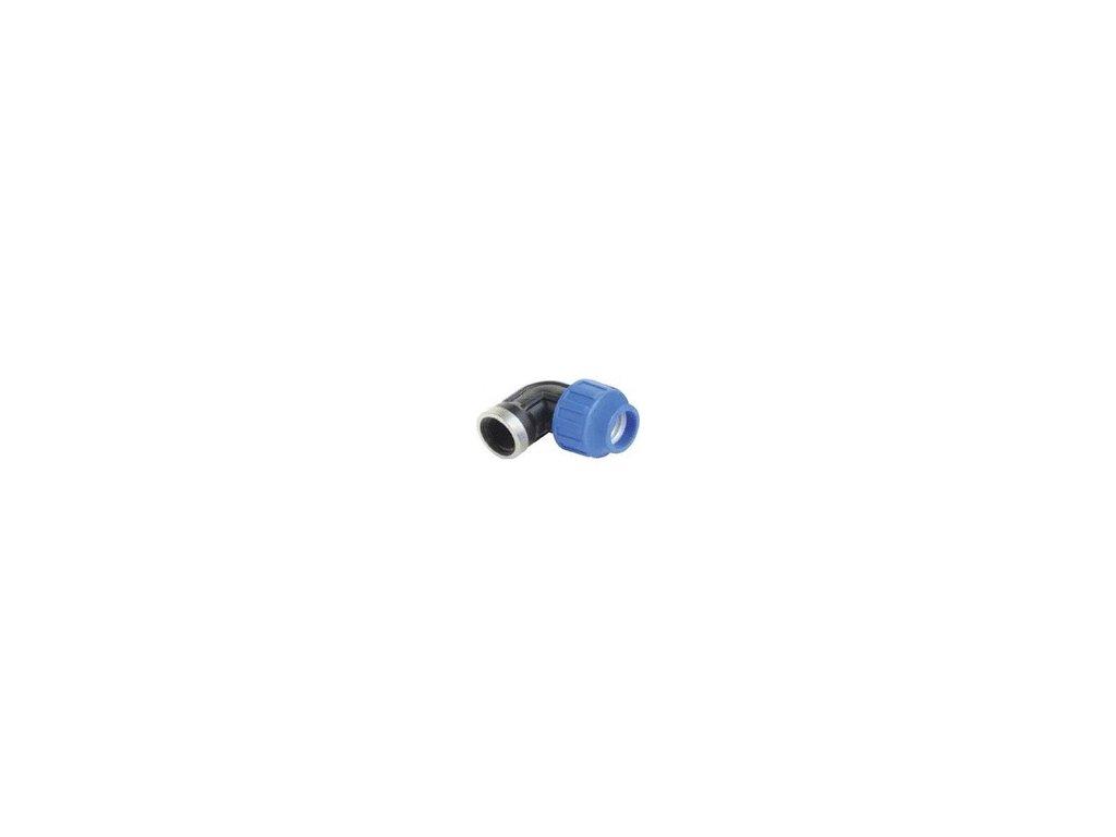 PE  TVAROVKA-Prípojka-Koleno 90° vnútorný závit