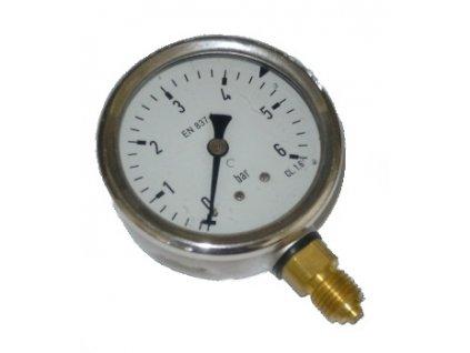 Manometer ø 50mm, spodný pripoj, 0-6Bar