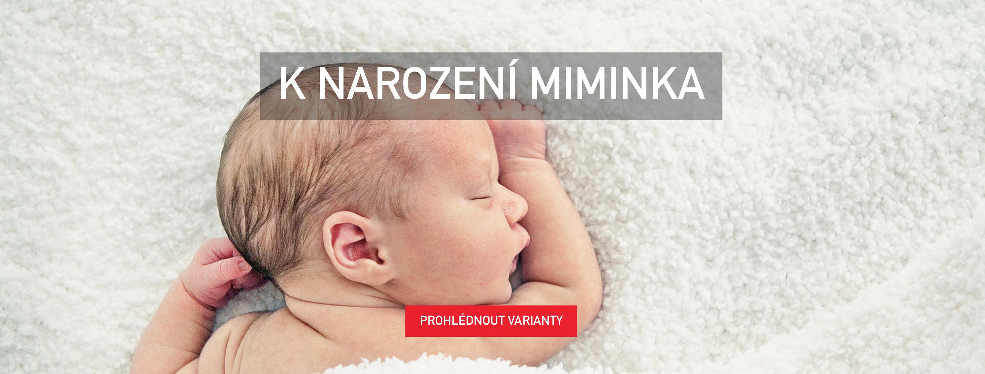 Dárky k narození dítěte, narození miminka, narození novorozeně