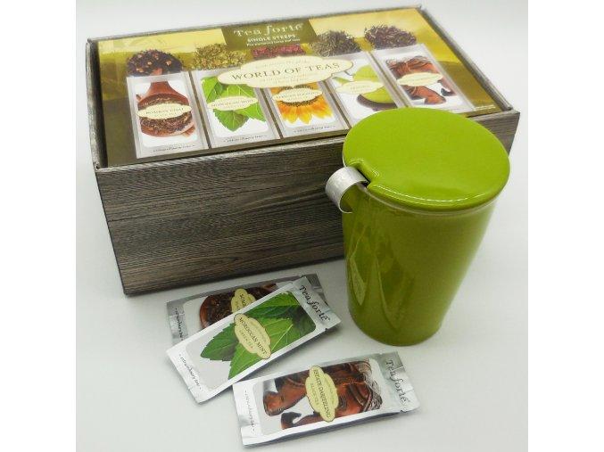 Single steeps box Kati . Tea forte®
