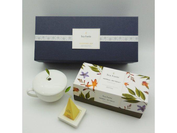 Retreat Herbal tea box . Tea forte®
