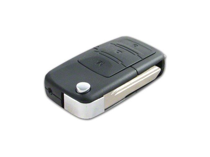 Skrytá kamera v klíči od auta