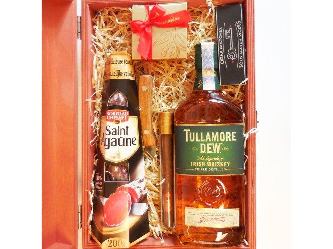 Woodcase . Tullamore Salami