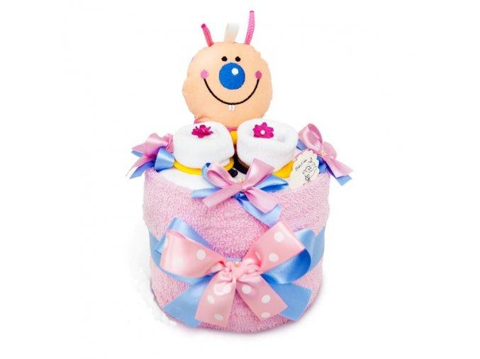 Novorozenecký dortík . Bleška