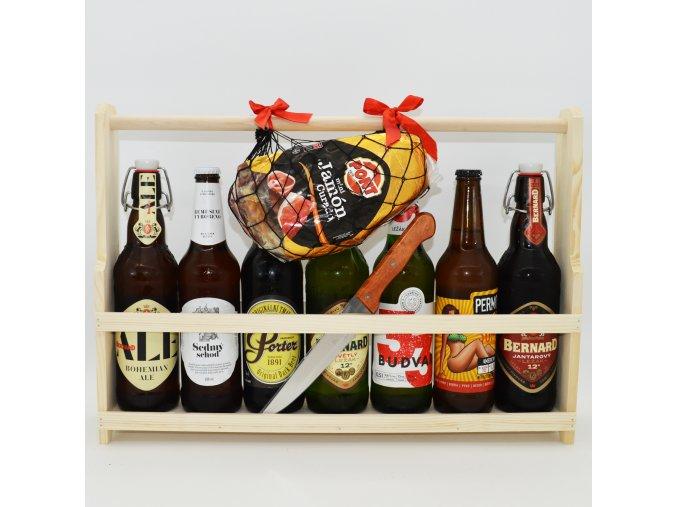 přepravka s pivy