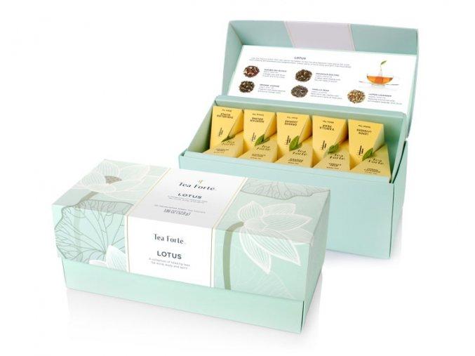 Ribbon Box Mix Tea LOTUS . dárková sada po 20 ks