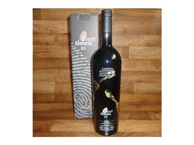 DAKTYLE 1.5 L . originální víno s otisky rukou