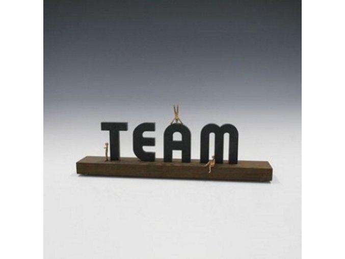 Team . Motivační týmová trofej