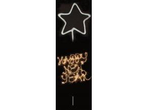 Prskavka tvarovaná . hvězda