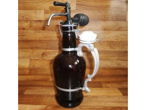Pivní džbán s pípou . FREDY 2l