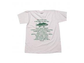 Rybářské tričko . Fish