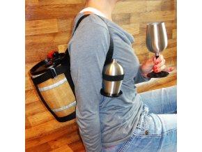 Pohotovostní soudek s vínem . VŽDY PŘIPRAVEN!