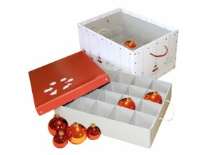 Archivační krabice na vánoční ozdoby