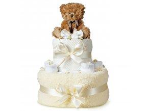Svatební dort . Brzy budeme tři