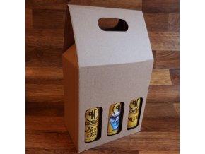 Odnosný pivní obal . na 6 lahví 0.3 l