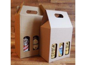 Odnosný pivní obal . na 6 lahví 0.5 l