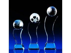 Wave Ball . Optické sklo