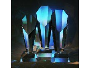 trofeje poháry pohromadě