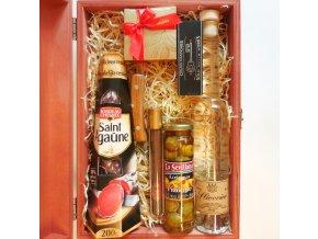 Woodcase . Slivovice Salami