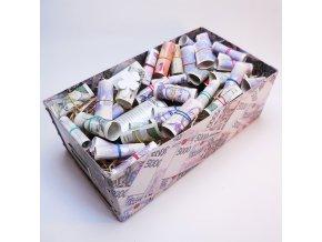 Peníze až v první řadě . Svatební dar