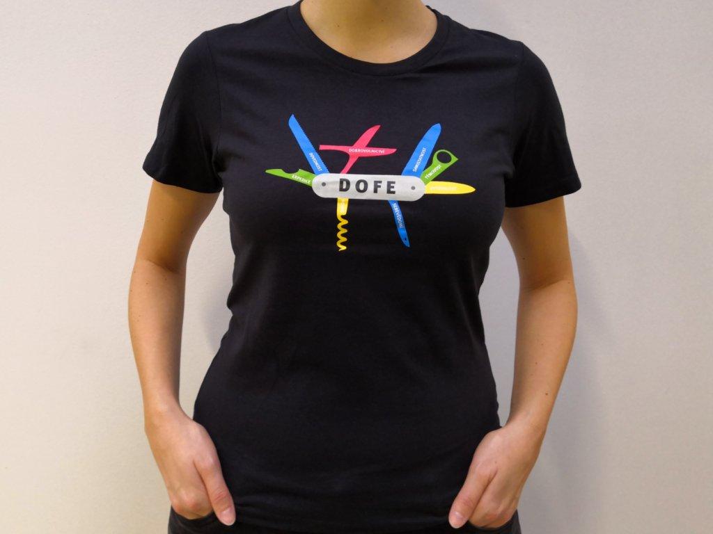 Dámské tričko DOFE Multitool