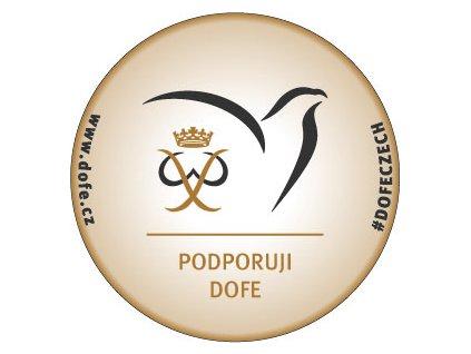 Samolepka podpory programu DofE