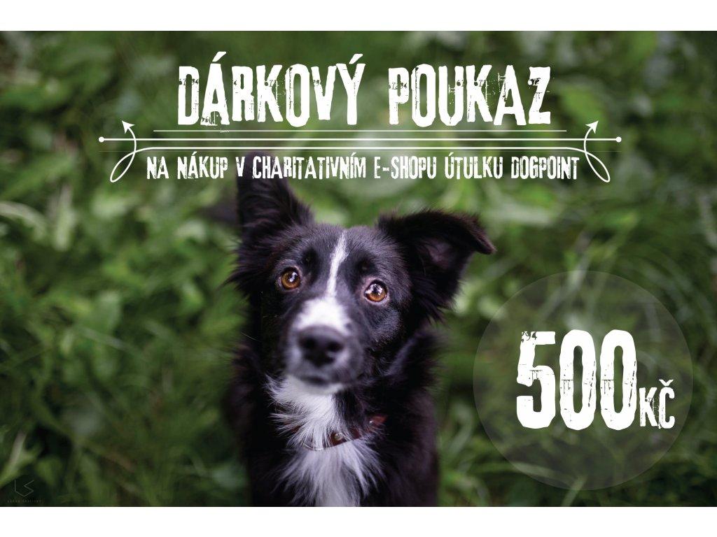 DARKOVY POUKAZ 500 TEXT