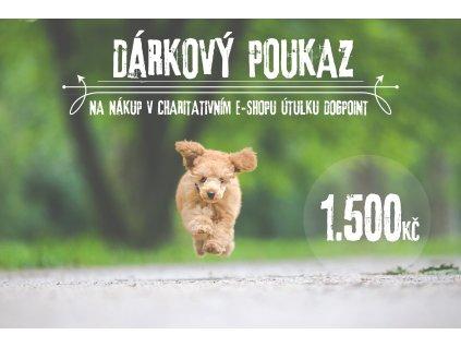 DARKOVY POUKAZ 1.500 TEXT