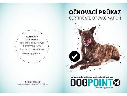 """Očkovací průkaz """"holanďák"""""""