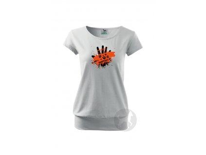 Hand orange