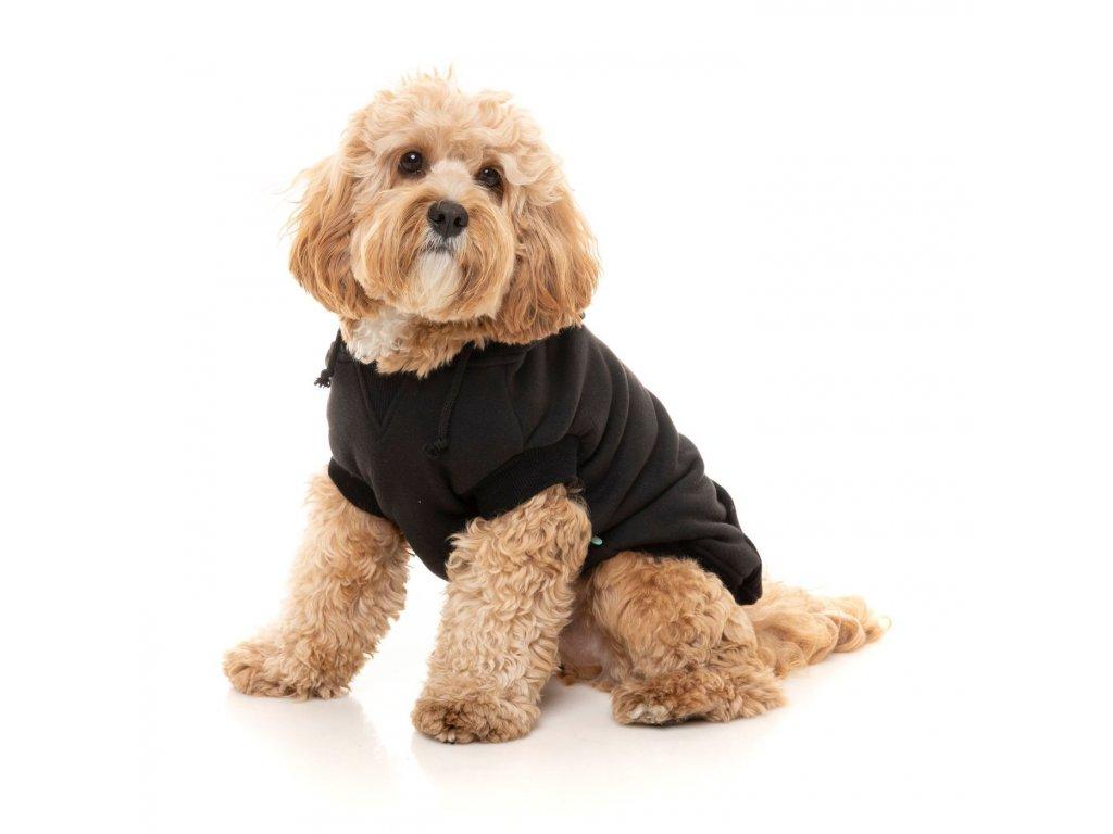 fuzzyard apparel street dog hoodie black size 4 5 1400x