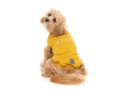 FZAW831 7 Jacket StreetSweater Mustard Dog 3 350x435