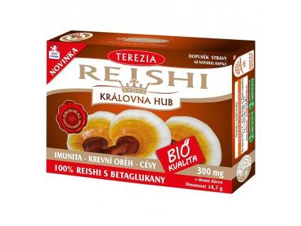 Terezia Reishi BIO 60 kapslí