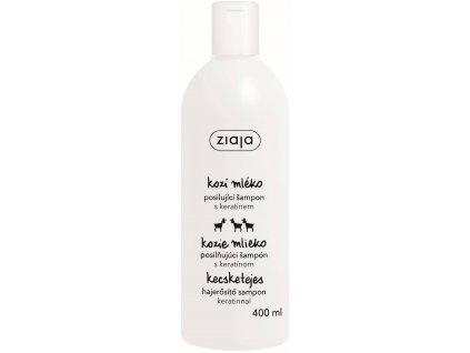 Ziaja Kozí mléko Šampon na vlasy s keratinem 400ml