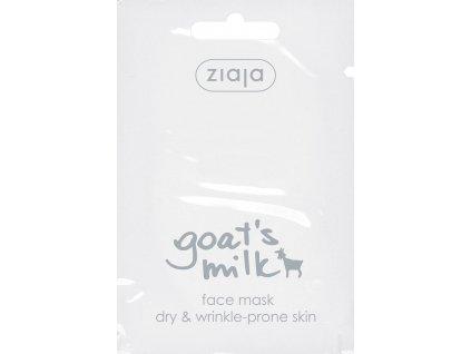 Ziaja Kozí mléko Pleťová maska 7ml