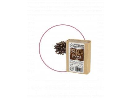 cosmetique savon gommant cafe vegetal