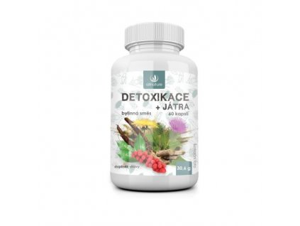 allnature detoxikace bylinny extrakt 60 cps