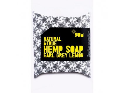 Canatura SUM prirodni konopne mydlo earl grey lemon 80g