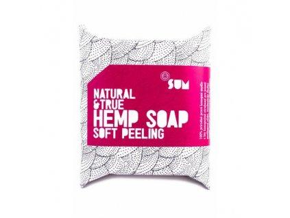 Canatura SUM konopne mydlo soft peeling