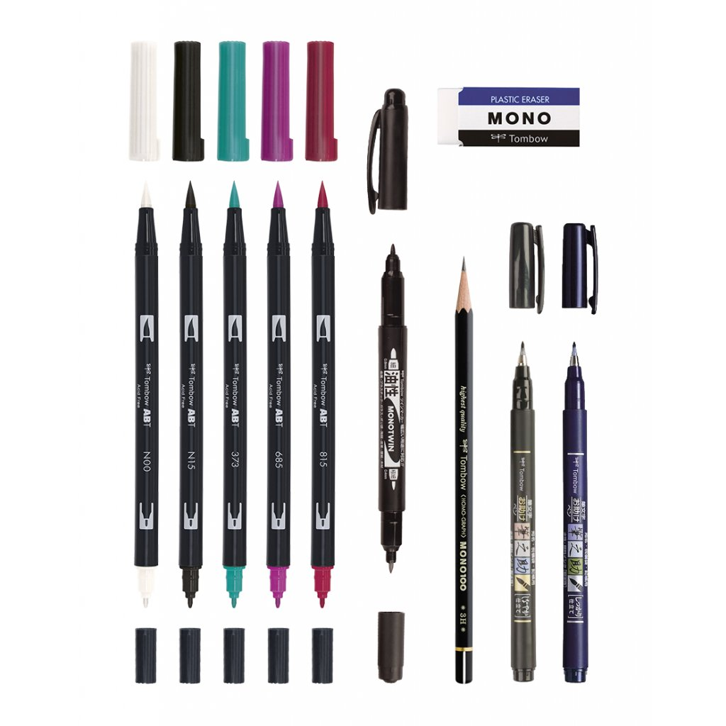 Tombow advanced small 01nh bile pozadi